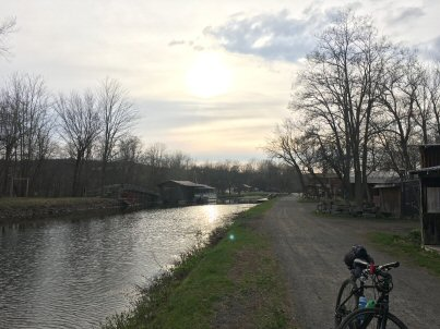 Erie Canal Trail in Camillus NY