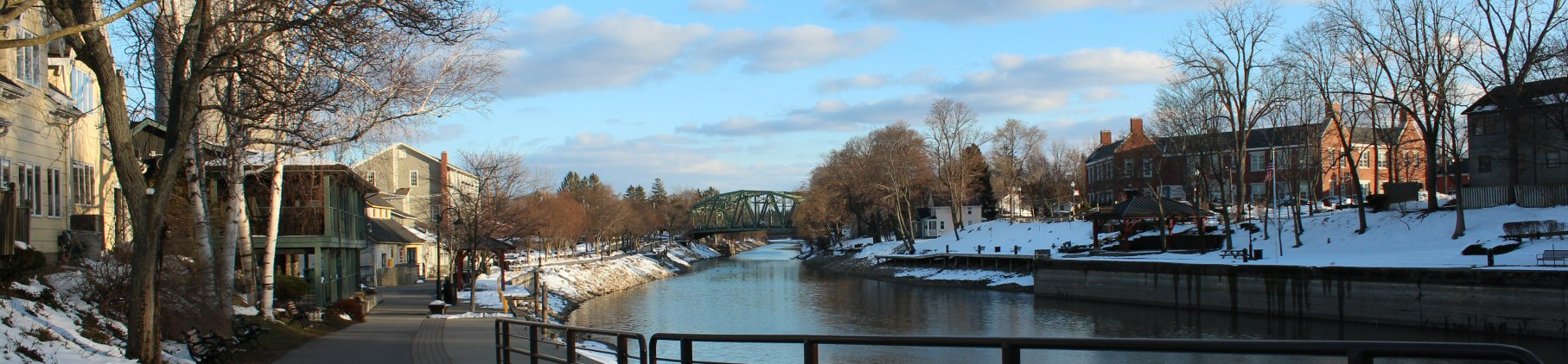 Erie Canal at Pittsford NY